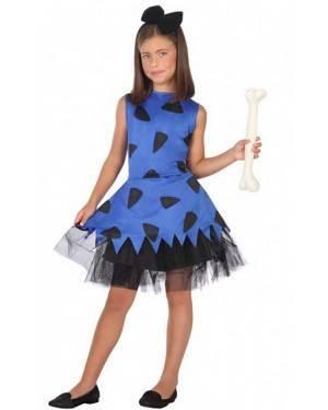 Costume Cavernicola Betty Bambine per Carnevale | La Casa di Carnevale