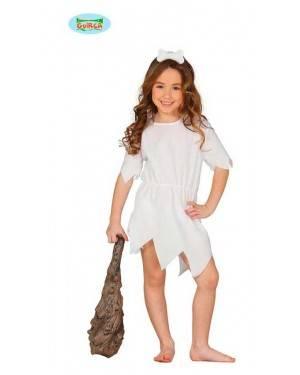 Costume Cavernicola Bianca Bambina