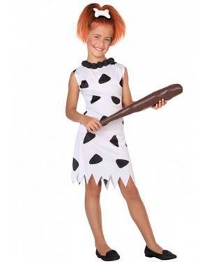 Costume Cavernicola Wilma Flintstone Bambine per Carnevale | La Casa di Carnevale