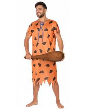 Costume Cavernicolo Fred Flintstone Adulto per Carnevale | La Casa di Carnevale