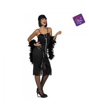 Costume Charleston Nero  M/L per Carnevale | La Casa di Carnevale