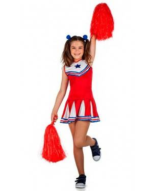 Costume Cheerleader Tg. 3-4 Anni
