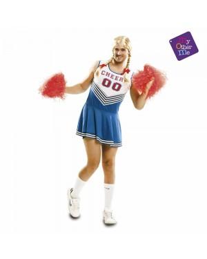 Costume Cheerleader Uomo M/L per Carnevale | La Casa di Carnevale