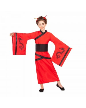 Costume Cinese Drago Bambina per Carnevale | La Casa di Carnevale
