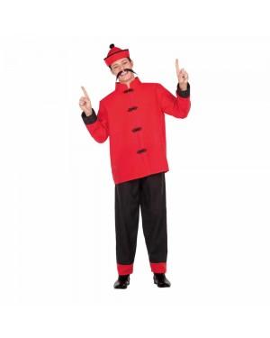 Costume Cinese Drago M/L per Carnevale | La Casa di Carnevale