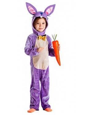 Costume Coniglietto Lila Tg. 10-12 Anni