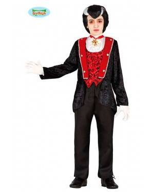 Costume Conte Dracula Bambino per Carnevale