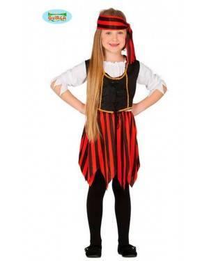 Costume Corsaro Bambina per Carnevale