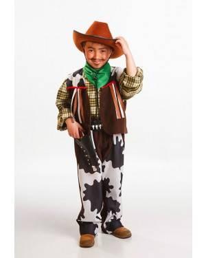 Costume Cowboy Bambino Taglia 3 a 5 Anni per Carnevale | La Casa di Carnevale