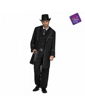 Costume Cowboy Nero M/L  per Carnevale | La Casa di Carnevale