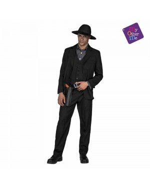 Costume Cowboy Scuro M/L  per Carnevale | La Casa di Carnevale
