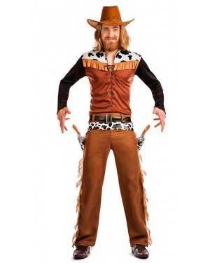 Costume Cowboy Texas Taglia M-L per Carnevale