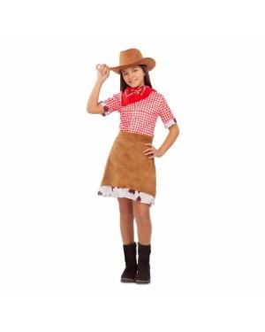 Costume Cowgirl Bambina per Carnevale   La Casa di Carnevale