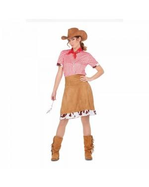 Costume Cowgirl Donna M/L per Carnevale | La Casa di Carnevale
