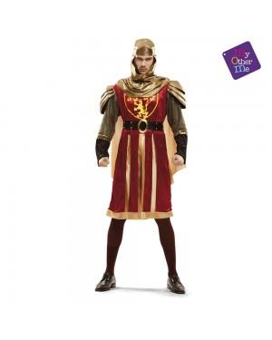 Costume Crociato Rosso de Luxe M/L per Carnevale | La Casa di Carnevale