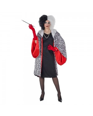 Costume Cruella Donna per Carnevale | La Casa di Carnevale