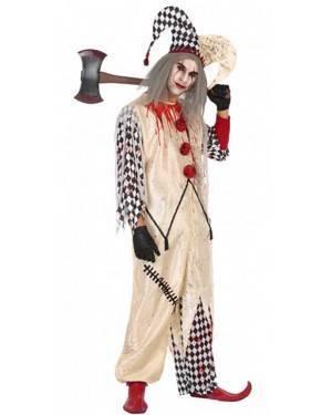 Costume da Arlecchino Sanguinante Uomo per Carnevale | La Casa di Carnevale