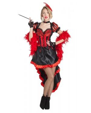 Costume da Ballerina di Can Can per Carnevale | La Casa di Carnevale