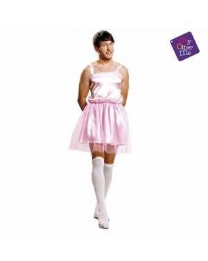 Costume da Ballerina Rosa Uomo M/L per Carnevale | La Casa di Carnevale