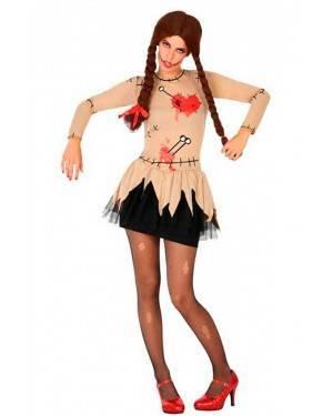 Costume Bambola Vudu Donna XS/S