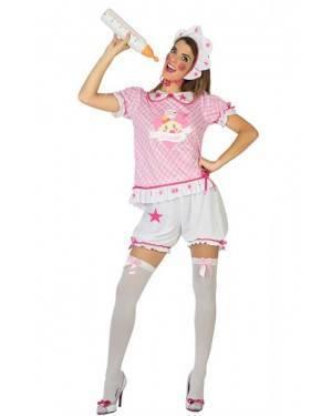 Costume Bimba Rosa Donna