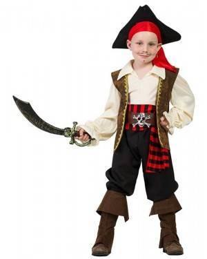 Costume da Capitan Pirata Bimbo