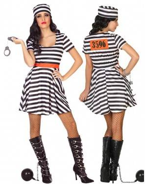 Costume Carcerata Adulto