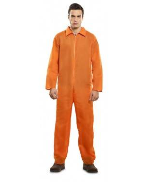 Costume da Carcerato Arancione Adulto