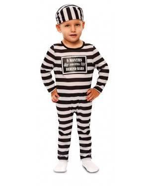 Costume da Carcerato Bebé