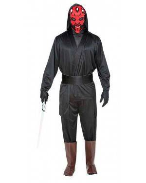Costume da Cattivo Galactico M/L per Carnevale