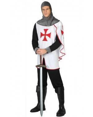 Costume Cavaliere Crociato Adulto