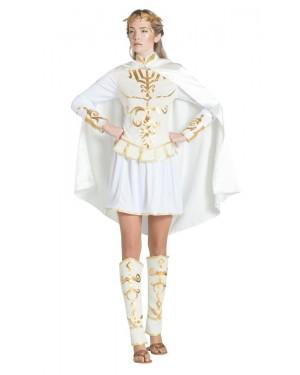 Costume da Cesare Bianco per Donna per Carnevale | La Casa di Carnevale
