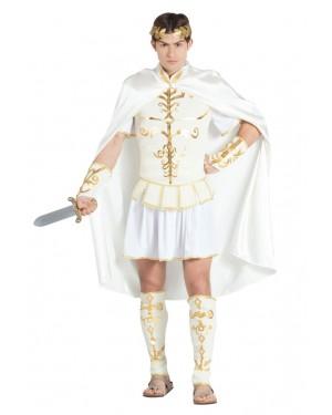 Costume da Cesare Bianco per Uomo per Carnevale | La Casa di Carnevale