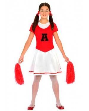 Costume Cheerleader 7-9 Anni