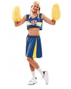 Costume da Cheerleader per Uomo Adulto