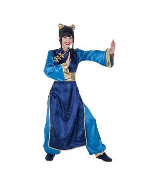 Costume da Cinese Blu Donna per Carnevale | La Casa di Carnevale
