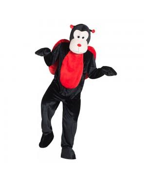 Costume da Coccinella Mascotte Gigante per Carnevale | La Casa di Carnevale