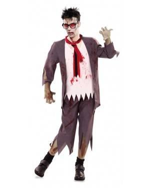 Costume da Collegiale Zombie Uomo