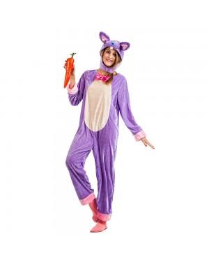 Costume da Coniglio Lila per Carnevale | La Casa di Carnevale