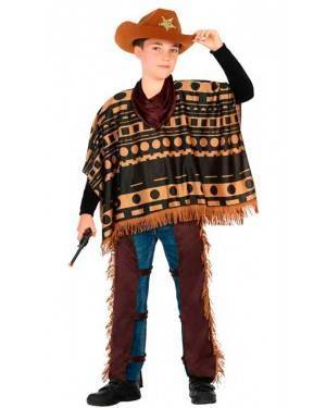 Costume Cowboy 7-9 Anni