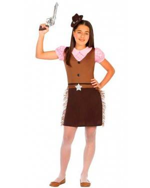 Costume Cowgirl 7-9 Anni
