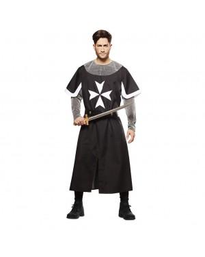 Costume da Crociato Medievale Nero per Carnevale | La Casa di Carnevale