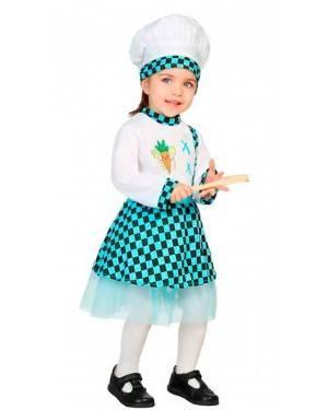 Costume Cuoca 6-12 Mesi