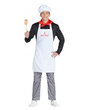 Costume da Cuoco con Sorpresa per Carnevale | La Casa di Carnevale