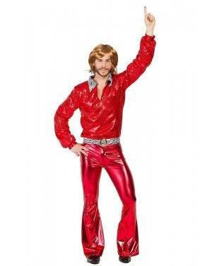 Costume da Discotecaro Rosso Taglia M/L