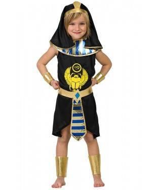 Costume da Egizio Nero Bimbo