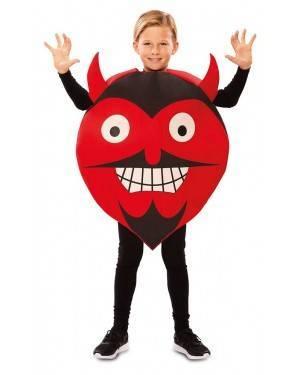 Costume da Emoticon Diavolo 7-9 anni