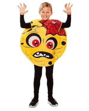 Costume da Emoticon Zombie 7-9 anni