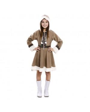 Costume da Eschimese Bambina per Carnevale | La Casa di Carnevale