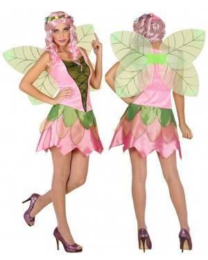 Costume Fata Rosa Adulto